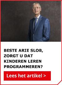 Beste minister Slob, Zorgt u dat kinderen leren programmeren?