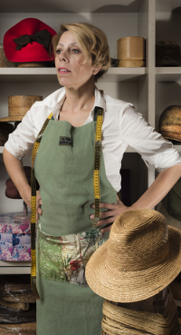 Berry Rutjes, hoedenmaker Prinsjesdag