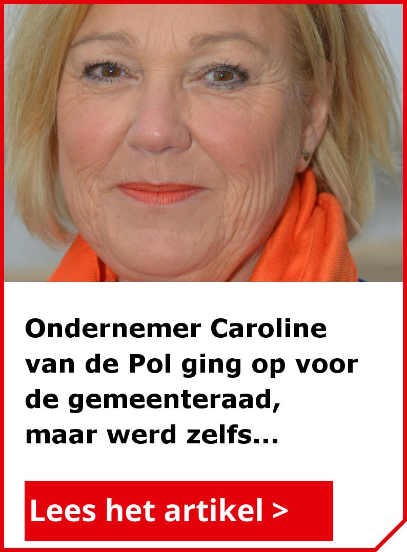 Lees ook het interview met Caroline van de Pol, wethouder in Koggenland én ondernemer