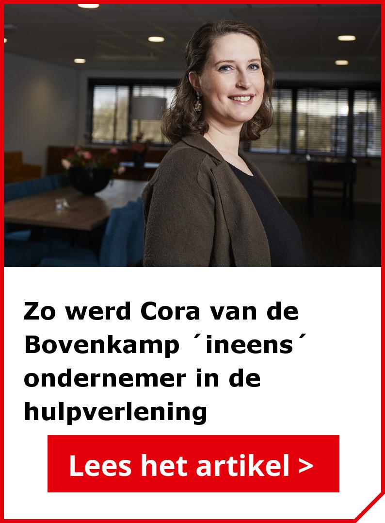 Lees ook het interview met Cora van de Bovenkamp