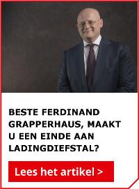 Beste Ferdinand Grapperhaus, maakt u een einde aan ladingdiefstal?