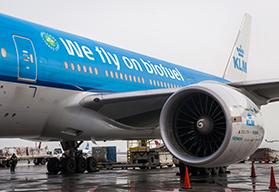 vliegtuig op biobrandstof