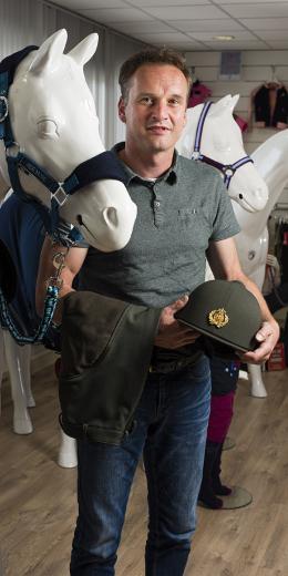 Bart Horst van ruiterkledingbedrijf Horka uit Zwolle