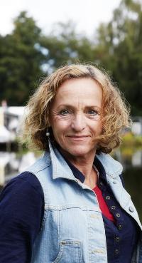 Ineke Hodes, Camping Batenstein in Woerden