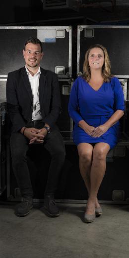 Marielle den Hartog en Mark Ouwekerk van Jacot audiovisueel