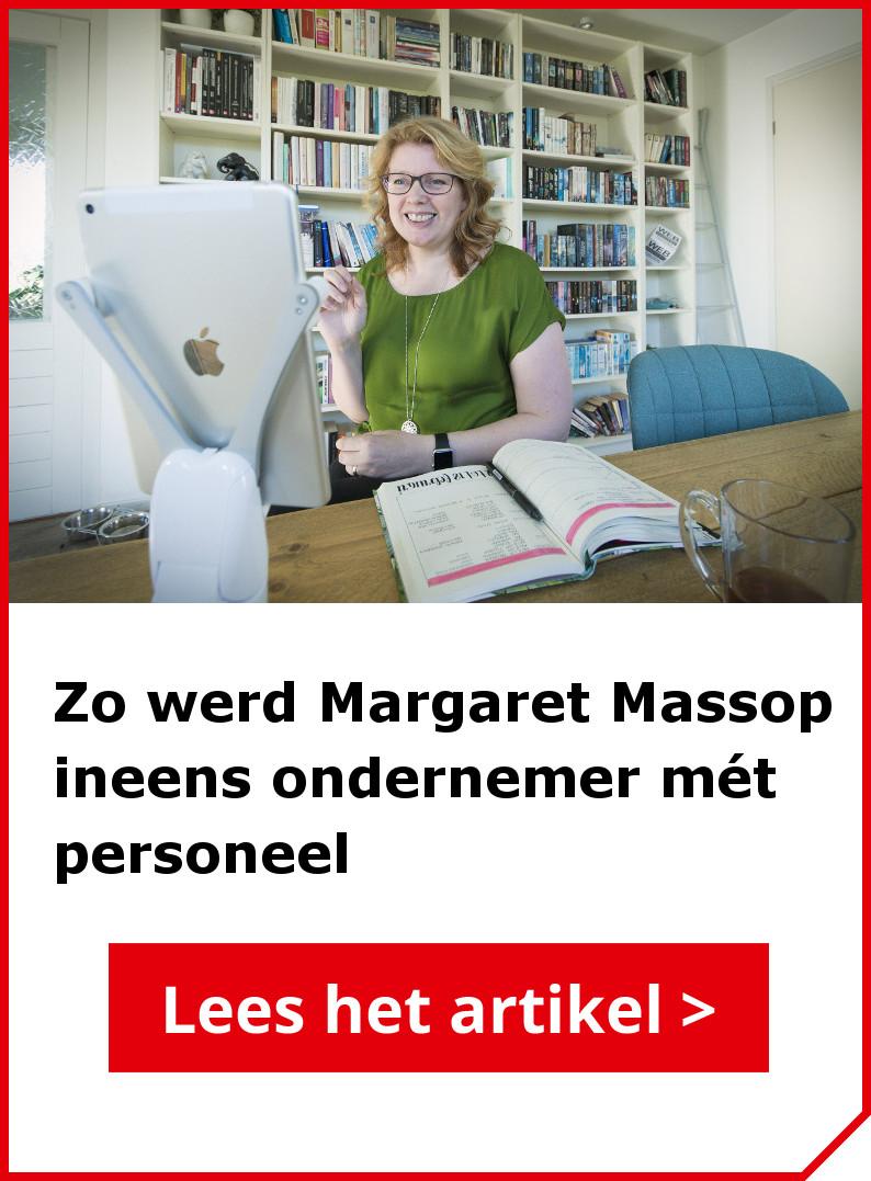 Lees ook het interview met Margaret Massop van Webmastery
