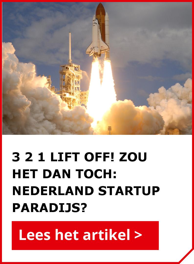 Lees ook het artikel: 3 2 1 lift off! Deze Brabantse incubator maakt startups succesvol