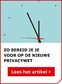 Lees ook het artikel: Zo bereid je je als ondernemer voor op de nieuwe privacywet