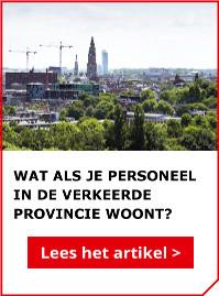 Lees ook het artikel: Wat als je personeel in de verkeerde provincie woont?