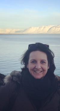 Renate Westdijk op IJsland