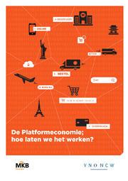 Omslag 'De platformeconomie, hoe laten we het werken?'