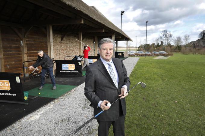 Bij golfclub Het Woold, waar ze aan klantenbinding doen door vijftigplussers een ontmoetingsplek te bieden.