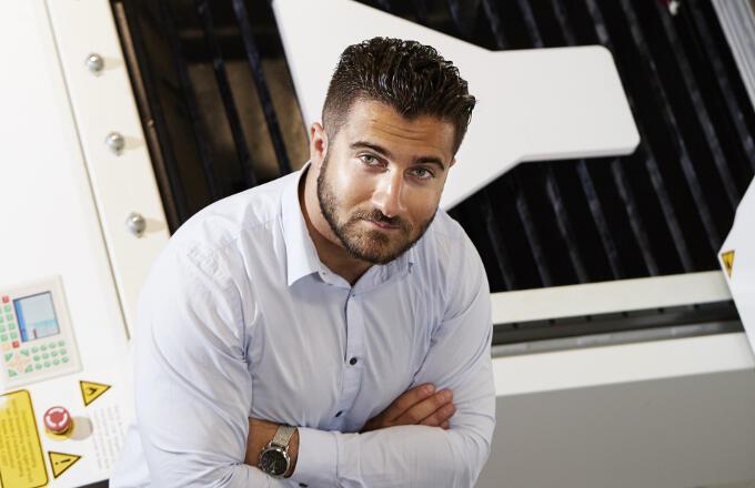 De Armeense Bakschik Martirosian kwam als elfjarige met zijn moeder en zijn broer naar Nederland