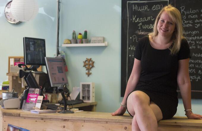 Corine Hofstra (Jouw Marktkraam): 'De échte ondernemers haal je er wel uit'