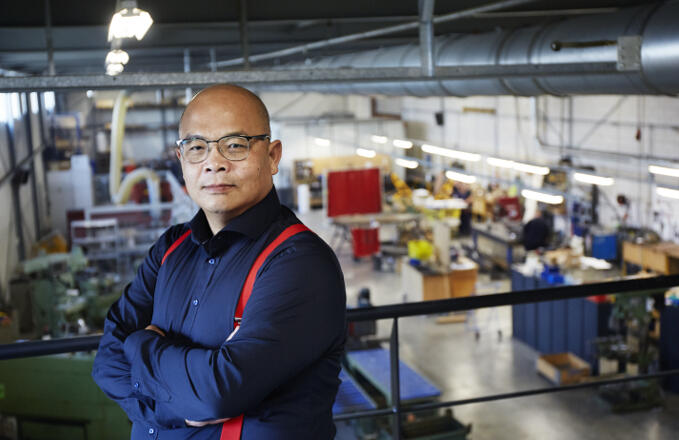 Hien Kieu kwam als veertienjarige jongen alleen naar Nederland op een bootje vanuit Vietnam