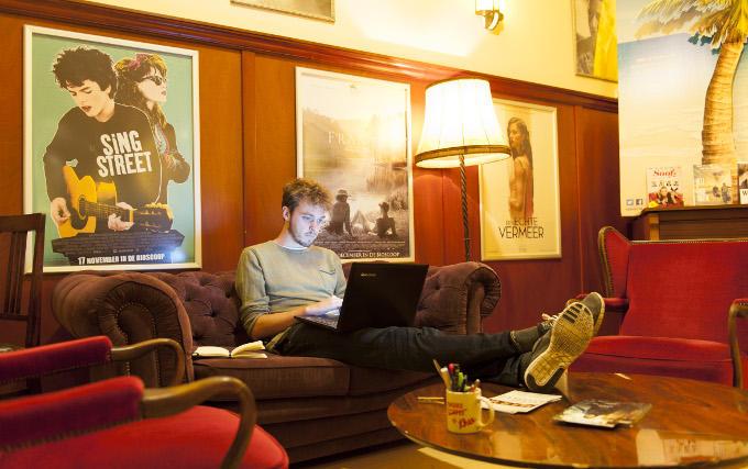 Nick Hortensius, filmprogrammeur. Filmhuis: het woord zegt het zelf al