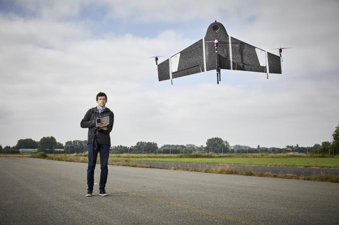 Eerst was er de drone, toen kwam de kennis van landmeting om hem optimaal in te kunnen zetten, zegt Ruud Knoops van Atmos UAV