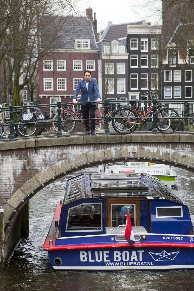 Amsterdam is zijn stad, zegt Bilal Çaki. Zijn thuis. 'Ik voel me een echte Amsterdammer.'