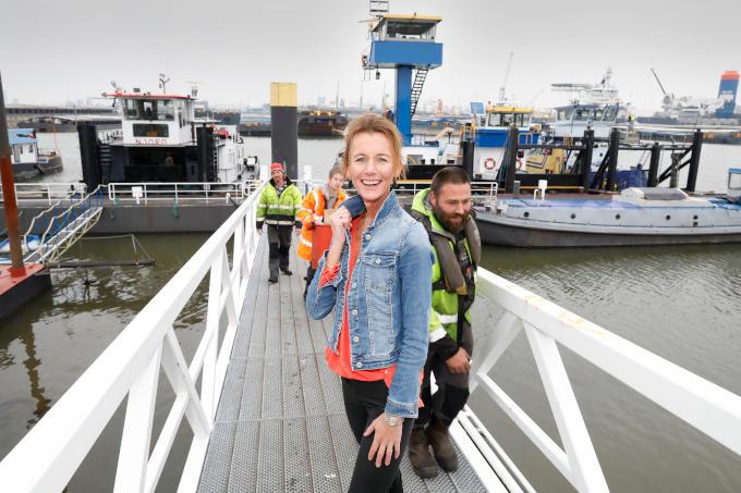 'De Rotterdamse haven vind ik prachtig, met al die grote schepen en kranen die letterlijk ons leven verrijken en groter maken'