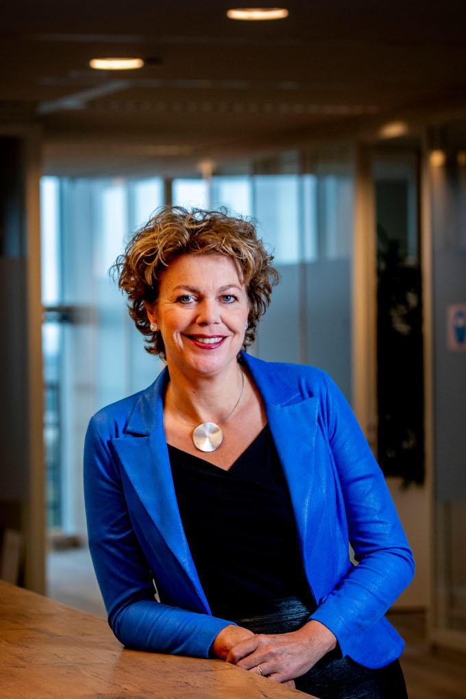 Ingrid Thijssen: 'Ik zal wat minder vocaal zijn dan Hans (de Boer, haar voorganger; red.). Daar moet de achterban misschien een beetje aan wennen.'
