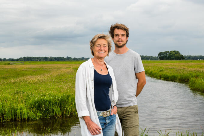 Roos en Joost van Schie van boerderij De Eenzaamheid: 'Altijd nieuwe dingen proberen'