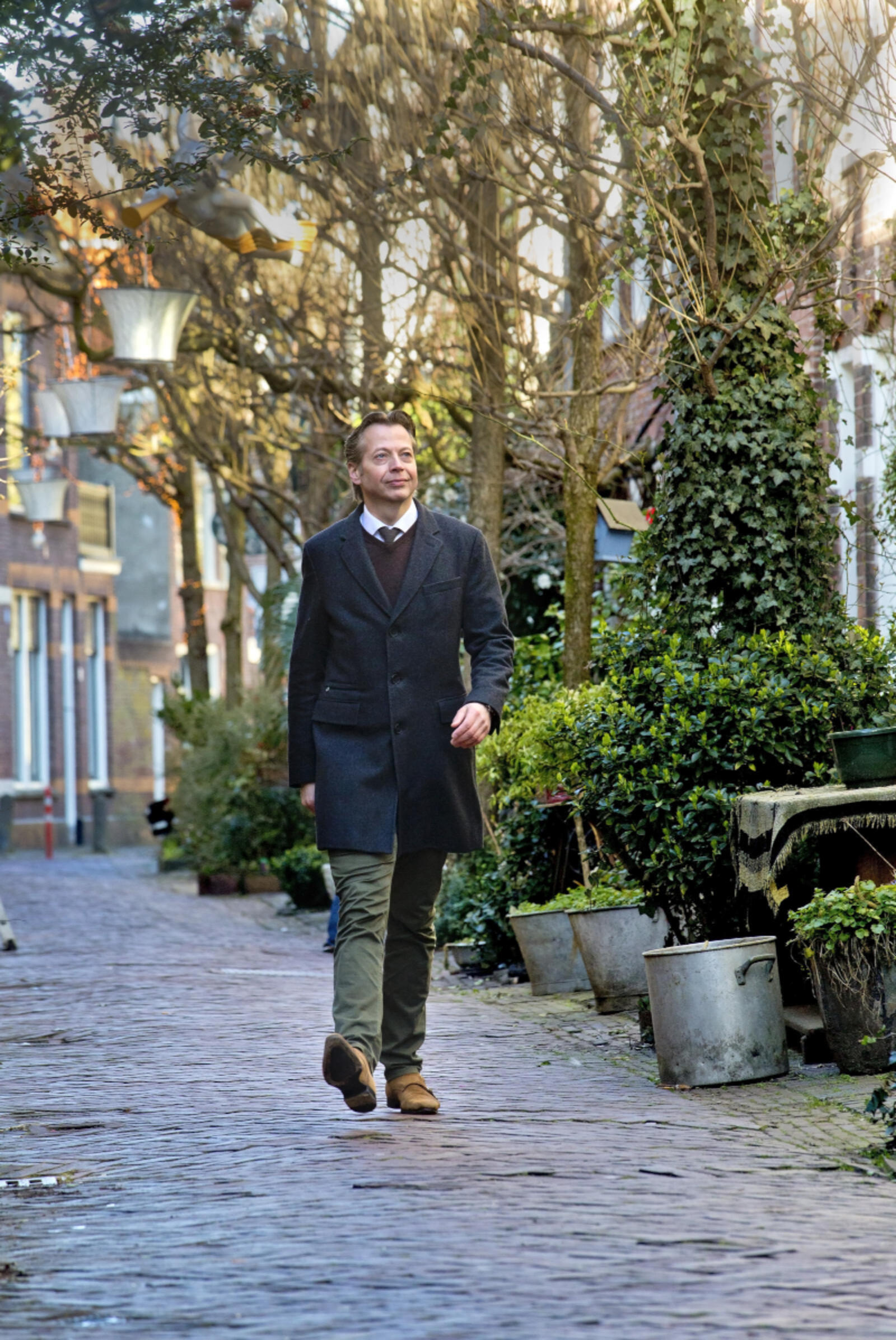 Mooie herinneringen hebben Marcel Huizing en zijn vrouw aan Haarlem. Ze woonden er in een oud pakhuis in de binnenstad. Inmiddels zijn ze verhuisd. 'Maar Haarlem blijft een fantastische stad.'