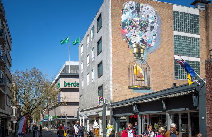 De vroegere junkiestad Heerlen is nu de street art hoofdstad van Nederland