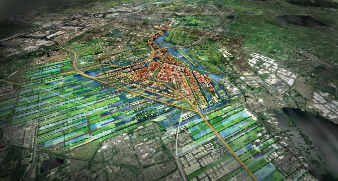 Als Schiphol op zee ligt, kan er weer gebouwd worden: 200.000 huur- en koopwoningen