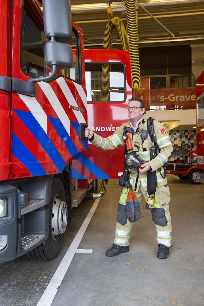 Maarten Steinkamp: 'Vrijwilliger zijn bij de brandweer is mijn grote hobby. Je leert er verrassend veel over het runnen van bedrijven.'