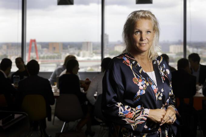 Overnemen? Marie-José van den Boomgaard klinkt oprecht verbaasd. 'Startups overnemen doen we bijna nooit. Te traditioneel'