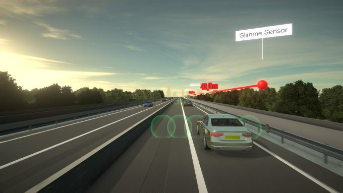 Slimme sensoren kunnen wel eens een hele grote rol gaan spelen om het verkeer te reguleren