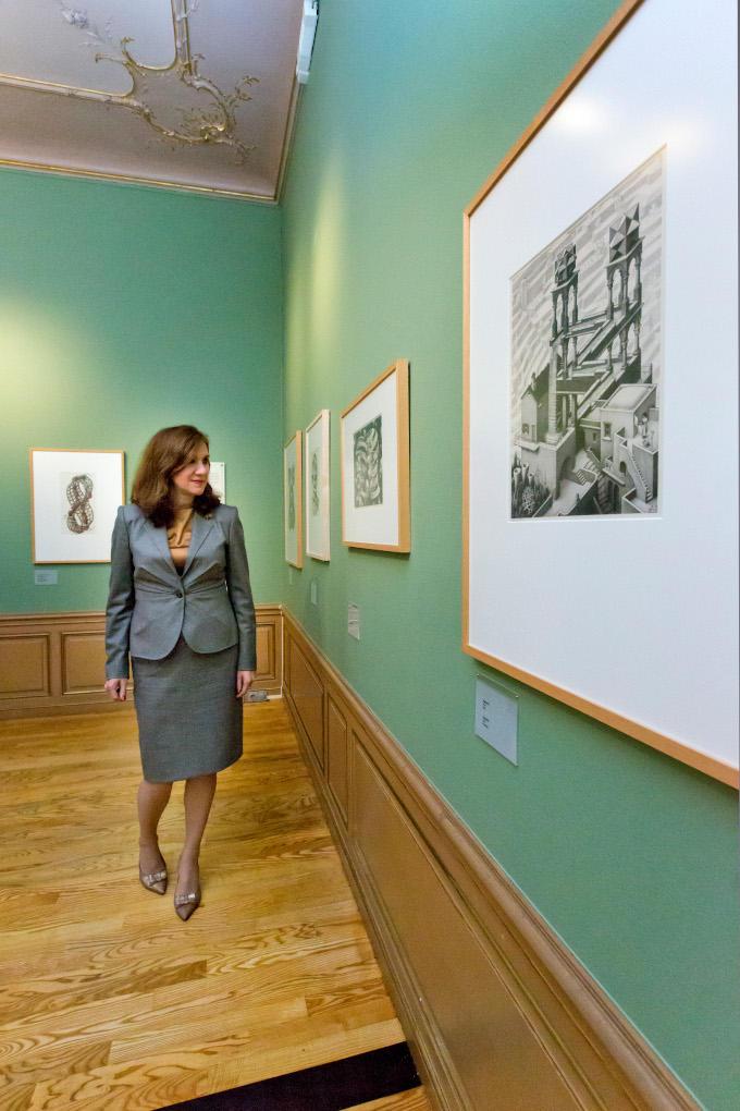 Stephanie Hottenhuis: 'Escher spreekt me aan vanwege de transitie, beweging, verandering in zijn werk'