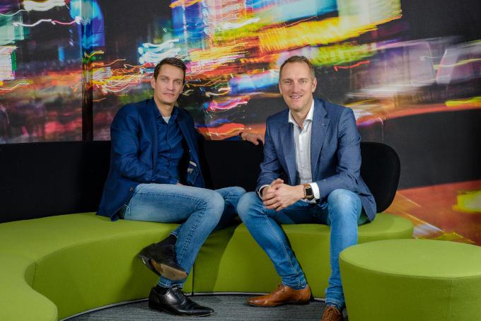 Het was even slikken voor Maarten Weemen (rechts op de foto) toen broer Twan ineens ook interesse toonde in het bedrijf. 'Ik had tot dan toe het alleenrecht gehad'