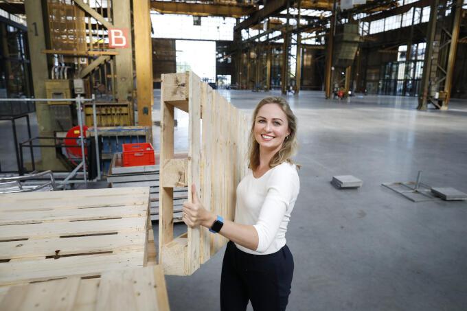 'Het Werkspoorkwartier in mijn Utrecht, waar oude industrie en nieuwe creativiteit samenkomen. En het is geen vergaarbak, het klopt daar.'
