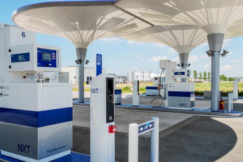 Bij het Alkmaarse NXT tankstation kan vanaf april volgend jaar waterstof worden getankt
