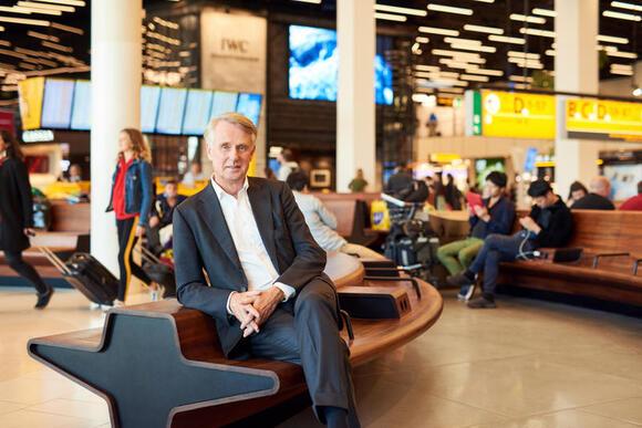 Dick Benschop: 'Schiphol gaat het anders doen na corona'