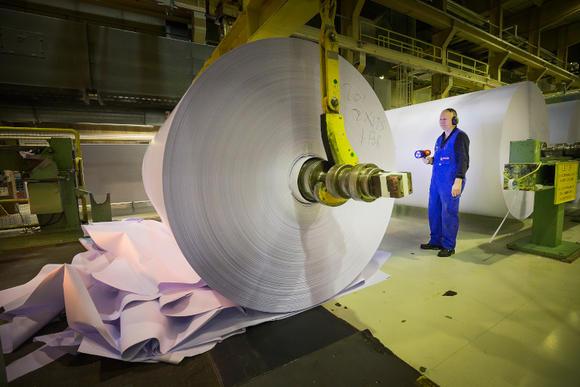 Energiebesparing: dat is lastiger dan je denkt voor deze papierfabriek