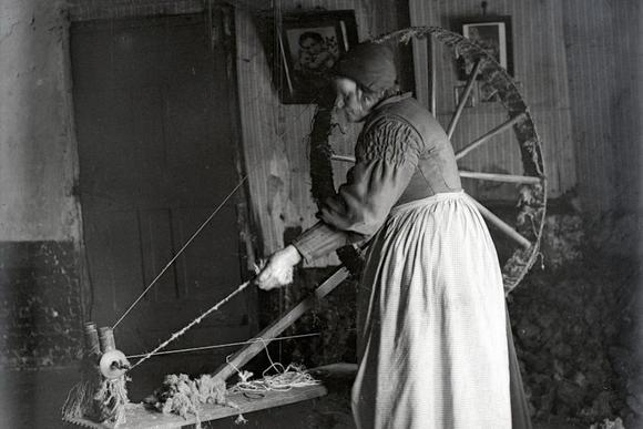 Deze vrouw was onmisbaar voor de textielindustrie