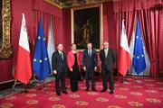 Joseph Muscat, Federica Mogherini, Donald Tusk, Jean-Claude Juncker