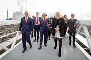 Indonesische president Widodo bezoekt Tweede Maasvlakte