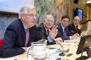 Brexit-onderhandelaar Barnier bij VNO-NCW en MKB-Nederland