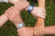 hands, team spirit