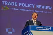 Valdis Dombrovskis over de herziende Europese handelsstrategie