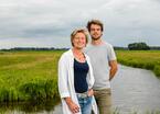 Met je moeder regeneratieve landbouw bedrijven. 'Ik ben hier trots op'