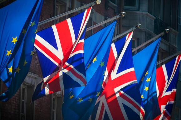 vlaggen EU-UK