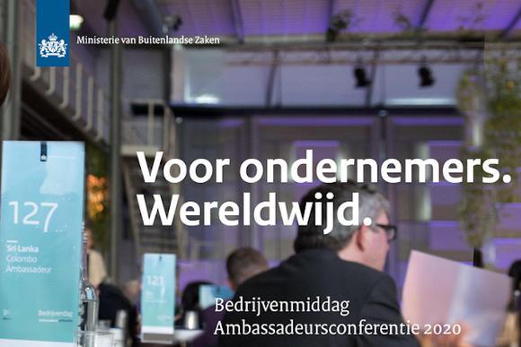 bedrijvenmiddag ambassadeursconferentie 2020
