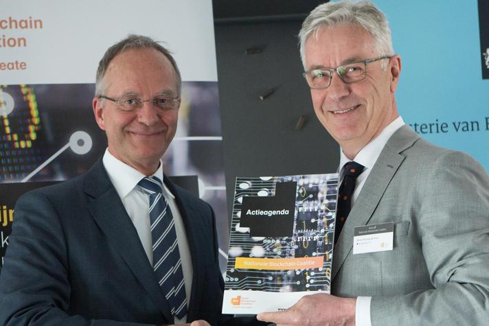 Henk Kamp en René Penning de Vries