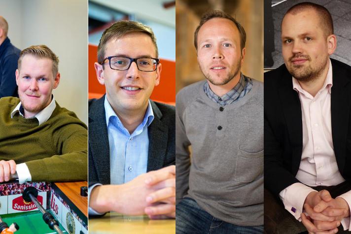 Deze vier startups zoeken de liefde van een groot bedrijf