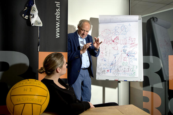 Oud-waterpoloër Gijze Stroboer: 'Topsportverleden geeft streepje voor'