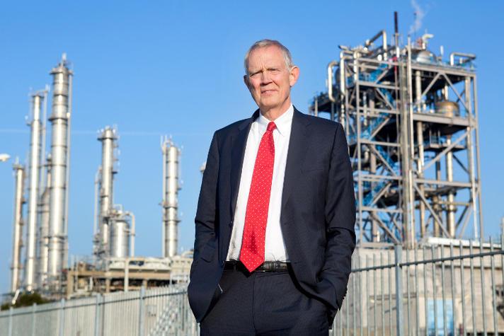 Deze man moet zorgen dat Rotterdamse industrie geen fossiel wordt